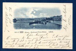 Liège .Ecluse. Boulevard Frère-Orban. 1900 - Liege