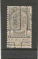 Preo / Voorafgestempeld Florennes 00 - Roulettes 1900-09
