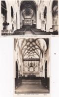OTTERY ST MARY CHURCH. 2 CARDS - England
