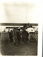Carton De Wiart  Lieutenant General Sir Adrian Paul Ghislain Carton De Wiart VC 18*13 CM Fonds Victor FORBIN 1864-1947 - Aviación