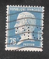 Perforé/perfin/lochung France No 177 CIC Crédit Industriel Et Commercial (171) - Perfins