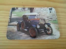 "Portuguese Pocket Calendar, Calendário Português ""Old Car, "" Advertising Renault, Penafiel - Calendari"