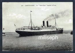 """SAINT-NAZAIRE - Le """"Puerto Rico """" Franchit La Passe - 1925 - Editeur: J-B . ?   (4558) - Saint Nazaire"""