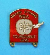 1 PIN'S  //   ** GRAND STRAND / WBA / TOURNAMENT // 1990 ** - Boxe