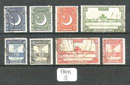 PAK YT 47/54 En Obl - Pakistan