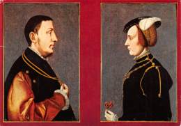 CPM - DIEST - Stedelijk Museum - Portretten Van René Van Chalon En Van Anna Van Lotharingen - Diest