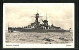 AK Panzerschiff Deutschland Der Kriegsmarine - Krieg