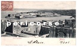 Malte  Fort Ricasoli - Malte