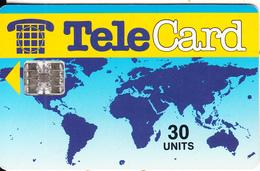 PAKISTAN - TeleCard 30 Units(1 Dot), Red CN, Used - Pakistan