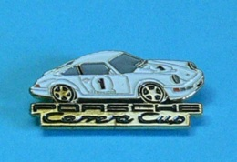 1 PIN'S //  ** PORSCHE 964 CARRERA CUP '92 ** . (Patrick Pillet) - Porsche