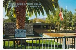1980'S CPA- CHILE, EXTERIOR MUSEO GABRIELA MISTRAL. VICUÑA. GRAFICAS SODISAR LTDA - BLEUP - Chili