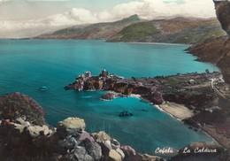 Cefalù-PALERMO-LA CALDURA-CARTOLINA VERA FOTOGRAFIA VIAGGIATA IL 1-8-1958 - Palermo