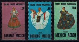 Mexico 1980 - Trachten  Folk Costume - MiNr 1710-1712 - Kostüme