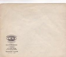 1940'S COMMERCIAL COVER- LS5 ESTACIOPN RIVADAVIA PROGRAMA RADIO SPLENDID - BLEUP - Argentine