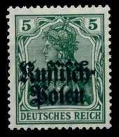 BES 1WK D-POST IN POLEN Nr 2 Postfrisch X73A53A - Besetzungen 1914-18