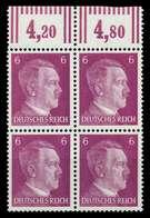3. REICH 1941 Nr 785a Postfrisch VIERERBLOCK ORA X78011A - Germany