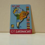 Phonecard - Switzerland - IDT - 10 Francs - Schweiz