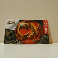 Phonecard - Switzerland - ICM - 20 Francs - Suiza