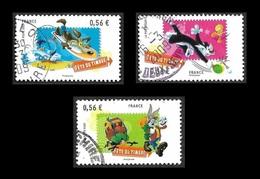 FRANCE  2009 - YT  4338 à 4340  - Looney- Oblitérés - 2010-.. Matasellados