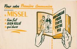 BUVARD Missel Pour Première Communion    ( Recto Verso ) - Stationeries (flat Articles)