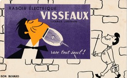 BUVARD  Rasoir électrique Visseaux  ( Recto Verso ) - Electricidad & Gas