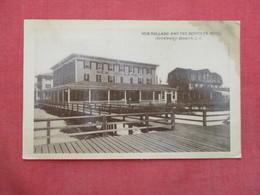New Holland & Benmark Hotel  Has Stain Top Right Corner Rockaway Beach   New York City  Long Island Ref 3439 - Long Island