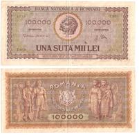 Banknote 100000 Lei 1947 -Romania - Romania