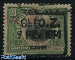Haiti 1914 20c, Overprint, Stamp Out Of Set, (Mint NH), Stamps - Haití