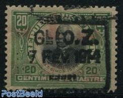 Haiti 1914 20c, Overprint, Stamp Out Of Set, (Mint NH), Stamps - Haiti