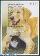 Bhutan 1997 Hovawart Dog S/s, (Mint NH), Nature - Dogs - Cats - Bhutan