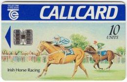 IRELAND A-382 Chip Telecom - Painting, Sport, Horse Racing - Used - Ireland