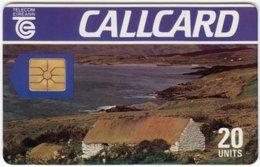 IRELAND A-424 Chip Telecom - Landscape, Coast - Used - Ireland