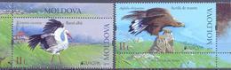 2019. Moldova, Europa 2019, National Birds, 2v, Mint/** - Moldova