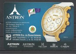 Hungary, Astron 5540-4  Watch, Astron Shops Ad,  2019. - Small : 2001-...