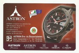 Hungary, Merion 3185-0  Watch, Astron Shops Ad,  2019. - Small : 2001-...