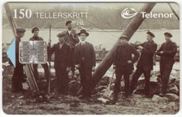 NORWAY A-304 Chip Telenor - Historic Photo - Used - Norwegen