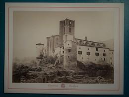 VICHY Et Ses Environs - CHATEAU A SITUER  - Photographie Ancienne Albuminée De Claudius Couton - Photos