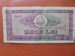 ROUMANIE 10 LEI 1966 CIRCULER - Roumanie