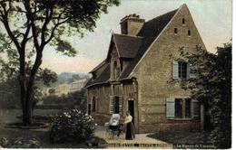 76 Environs Du Havre Sainte Ste Adresse En 1906 N°56 Le Manoir De Vitanval VOIR ZOOM Femme Landau Bébé - Sainte Adresse