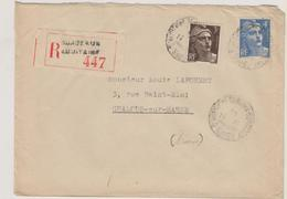 Bordeaux Aquitaine - Recommande - Gandon - Postmark Collection (Covers)