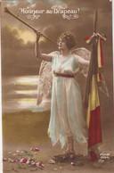 GUERRE / OORLOG  1914-18  / HONNEUR AU DRAPEAU - Oorlog 1914-18