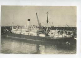 400494 LLOYD BRAZIL Line Ship Almirante Jacequay Old Postcard - Schiffe