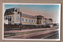 CPSM VIET NAM - NORD VIETNAM - HANOI - La Gare Et Les Quais - TB PLAN TRAIN WAGONS CHEMIN DE FER - Viêt-Nam