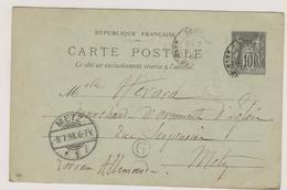 Briey + Boite Rurale G = GENAVILLE  / Meurthe-et-Moselle - Marcophilie (Lettres)