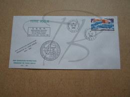 """VEND BEAU TIMBRE DE POSTE AERIENNE DES T.A.A.F. N° 62 SUR LETTRE , """" DUMONT-D'URVILLE-T.ADELIE """" !!! (b) - Airmail"""