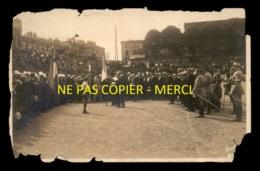 57 - SARREBOURG - CEREMONIE - CARTE PHOTO ORIGINALE - VOIR ETAT - Sarrebourg