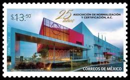 2017 MÉXICO Asociación De Normalización Y Certificación MNH  ASSOCIATION OF STANDARDIZATION AND CERTIFICATION, EDIFICE - Messico