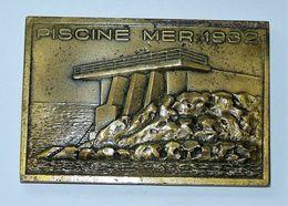 MEDAILLE BRONZE CERCLE NAGEURS DE MARSEILLE - PISCINE MER 1932 & OLYMPIQUE 1968   9 X 6 Cm Environ - Touristiques