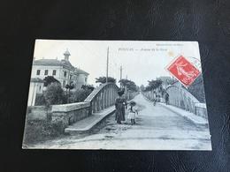 VONNAS Avenue De La Gare - 1908 Timbrée - France