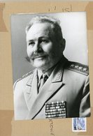 Photo Originale . Le Maréchal  SERGUEI CHTEMENKO  Chef D'état Major Du Pacte De  VARSOVIE - Guerre, Militaire